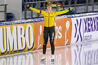 28th December 2020; Thialf Ice Stadium, Heerenveen, Netherlands; World Championship Speed Skating; 1000m ladies, Antoinette de Jong during the WKKT
