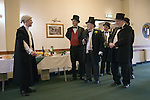 Bodmin Wassailers old New Years Day, 6th January 2016 Cornwall. The first recorded evidence of the Bodmin Wassailers is in the Will of the Town Clerk Nicholas Sprey who left in his Will dated 1624, 16 shillings and 4 pence to provide an annual Wassailing Cup. The present Town Clerk, Stephen Facer entertains the Bodmin Wassailers and various town hall dignitaries at his personal expense (£35-00) in the  Mayors Parlor.