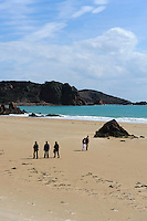 Strand von St.Brelade's Bay, Insel Jersey, Kanalinseln