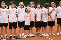 17-8-08, Den Bosch, Tennis, Nationale Kampioenschappen,  Ballenkinderen
