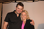 """As The World Turns' Terri Conn poses with Trent Dawson who wrote """"The F"""" held a Benefit for the film on June 22, 2018 at the Freeman Studio, New York City, New York. (Photo by Sue Coflin/Max Photo)"""