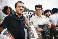 - Marcia della pace Perugia Assisi, Mimmo Pinto ed Adriano Sofri, leaders dell'organizzazione Lotta Continua (settembre 1981) <br /> <br /> - Peace March Perugia Assisi, Mimmo Pinto and Adriano Sofri, leaders of the organization Lotta Continua (September 1981)