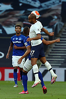 Lucas of Tottenham Hotspur during Tottenham Hotspur vs Everton, Premier League Football at Tottenham Hotspur Stadium on 6th July 2020