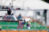 USA Flags on Fiting Pontoune<br /> Men's 10km Final<br /> Open Water Swimming Balatonfured<br /> Day 05 18/07/2017 <br /> XVII FINA World Championships Aquatics<br /> Lake Balaton Budapest Hungary<br /> Photo @ A.Masini/Deepbluemedia/Insidefoto
