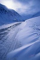 James dalton highway, Atigun Canyon, Brooks Range, Arctic, Alaska