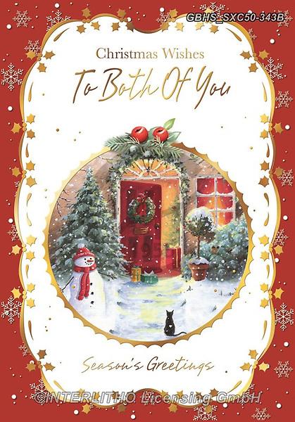 John, CHRISTMAS LANDSCAPES, WEIHNACHTEN WINTERLANDSCHAFTEN, NAVIDAD PAISAJES DE INVIERNO, paintings+++++,GBHSSXC50-343B,#xl#