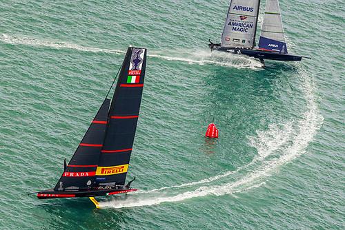 Luna Rossa Prada Pirelli beat New York Yacht Club American Magic