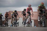 Greg Henderson (NZL/Lotto-Soudal) in one of his last appearances in Belgium for Team Lotto-Soudal<br /> <br /> 101st Kampioenschap van Vlaanderen 2016 (UCI 1.1)<br /> Koolskamp › Koolskamp (192.4km)