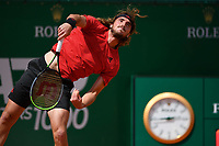 13th April 2021; Roquebrune-Cap-Martin, France;  Stefan Tsitsipas Gre during the  Rolex Monte Carlo Masters