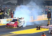 Jul. 27, 2014; Sonoma, CA, USA; NHRA funny car driver Tim Wilkerson during the Sonoma Nationals at Sonoma Raceway. Mandatory Credit: Mark J. Rebilas-