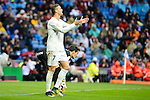 Real Madrid's player Cristiano Ronaldo during match of La Liga between Real Madrid and Sporting de Gijon at Santiago Bernabeu Stadium in Madrid, Spain. November 26, 2016. (ALTERPHOTOS/BorjaB.Hojas)