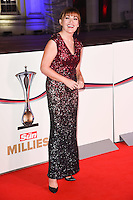 Lorraine Kelly<br /> at the Millies 2016, Guildhall, London.<br /> <br /> <br /> ©Ash Knotek  D3212  14/12/2016