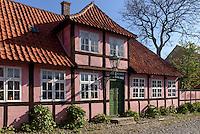 Museum Erichsens Gård in Rønne, Insel Bornholm, Dänemark, Europa<br /> Museum Erichsens Gård, Roenne, Isle of Bornholm, Denmark