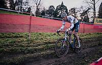 CX world champion Mathieu Van der Poel (NED/Alpecin-Fenix)<br /> <br /> UCI Cyclocross World Cup Namur 2020 (BEL)<br /> <br /> ©kramon