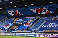 VOETBAL: HEERENVEEN: Abe Lenstra Stadion, SC Heerenveen, Spandoek, ©foto Martin de Jong