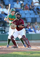 Gerardo Bustamante / Yakima Bears playing against the Boise Hawks - Boise, ID - 08/27/2008..Photo by:  Bill Mitchell/Four Seam Images