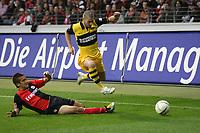 Junichi Inamoto (EIntracht) gegen Mladen Petric (BVB)<br /> Eintracht Frankfurt vs. Borussia Dortmund, Commerzbank Arena<br /> *** Local Caption *** Foto ist honorarpflichtig! zzgl. gesetzl. MwSt. Auf Anfrage in hoeherer Qualitaet/Aufloesung. Belegexemplar an: Marc Schueler, Am Ziegelfalltor 4, 64625 Bensheim, Tel. +49 (0) 6251 86 96 134, www.gameday-mediaservices.de. Email: marc.schueler@gameday-mediaservices.de, Bankverbindung: Volksbank Bergstrasse, Kto.: 151297, BLZ: 50960101