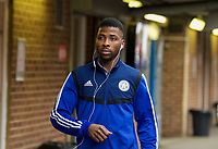 Kelechi Iheanacho of Leicester City arriving pre match during the FA Cup 4th round match between Brentford and Leicester City at Griffin Park, London, England on 25 January 2020. Photo by Andy Aleks.