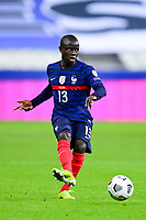 24th March 2021; Stade De France, Saint-Denis, Paris, France. FIFA World Cup 2022 qualification football; France versus Ukraine;  Ngolo Kante (France)