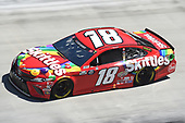 BRISTOL, TENNESSEE - MAY 31: Kyle Busch, driver of the #18 Skittles Toyota, drives during the NASCAR Cup Series Food City presents the Supermarket Heroes 500 at Bristol Motor Speedway on May 31, 2020 in Bristol, Tennessee. (Photo by Jared C. Tilton/Getty Images)