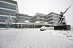 Hudson Alpha Institute in snow on Christmas Day Dec. 25, 2010.  Bob Gathany Photographer