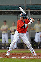 Illinois Fighting Illini outfielder Davis Hendrickson #2 during a game against the Notre Dame Fighting Irish at the Big Ten/Big East Challenge at Walter Fuller Complex on February 17, 2012 in St. Petersburg, Florida.  (Mike Janes/Four Seam Images)