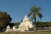 Goias Velho, Brazil. Well preserved colonial town; colonial architecture; the Chafariz de Cauda fountain.