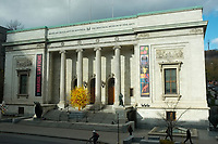 Montreal,  CANADA - November 5, 2014-<br /> <br /> Montreal Museum of Fine Art.<br /> <br /> Photo :  Agence Quebec Presse - Pierre Roussel
