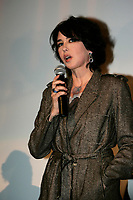August 2004 File Photo - Montreal, Quebec, Canada -<br /> World Film Festival's President Serge Losique give tribute to Isabelle Adjani