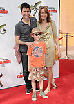 Eric McCormack & family at the Dreamwork Pictures' Premiere How to Train Your Dragon held at Gibson Universal in Universal City, California on March 21,2010                                                                   Copyright 2010  DVS / RockinExposures