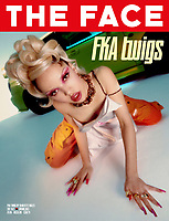 FEB 24 'THE FACE'  issue 007 fronted by FKA TWIGS