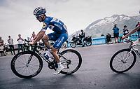 Julian Alaphilippe (FRA/Quick Step Floors)<br /> <br /> Stage 7: Moûtiers > Saint-Gervais Mont Blanc (129km)<br /> 70th Critérium du Dauphiné 2018 (2.UWT)