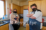 """Launching """"Cooking with Noel"""" in the Ballyheigue Resource Centre on Thursday. Front right: Chef Noel Keane. Back: Ciara O'Donnell (Videographer)."""