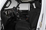 Front seat view of a 2020 Jeep Wrangler Unlimited Sport 5 Door SUV front seat car photos