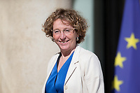 French Labour Minister Muriel Pénicaud arrives to the Elysee presidential palace for the weekly cabinet meeting on Wednesday, 28 June 2017 in Paris # CONSEIL DES MINISTRES DU 28/06/2017