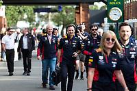 13th March 2020; Melbourne Grand Prix Circuit, Melbourne, Victoria, Australia; Formula One, Australian Grand Prix, Practice Day; Red Bull team boss Christian Horner