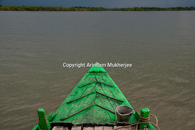 A boat at Sunderbans, West Bengal, India. Arindam Mukherjee