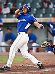 Fort Worth Cats Catcher Kelley Gulledge (21) in action during the American Association of Independant Professional Baseball game between the Amarillo Sox and the Fort Worth Cats at the historic LaGrave Baseball Field in Fort Worth, Tx. Fort Worth defeats Amarillo 3 to 0......