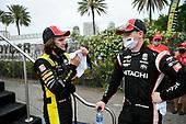 #26: Colton Herta, Andretti Autosport Honda, #2: Josef Newgarden, Team Penske Chevrolet