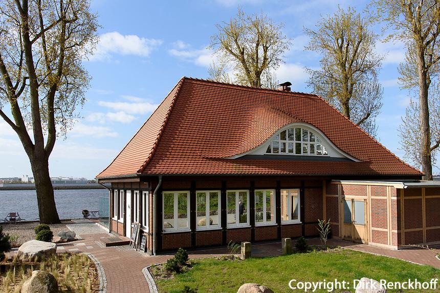 Restaurant Elv, Elbuferweg 80, Hamburg - Nienstedten, Deutschland, Europa<br /> Restaurant Elv, Elbuferweg 80, Hamburg - Nienstedten, Germany, Europe