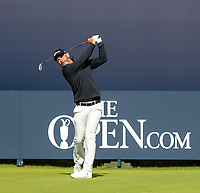 200719 | The 148th Open - Day 3<br /> <br /> Paul Waring of England on the 1st during the 148th Open Championship at Royal Portrush Golf Club, County Antrim, Northern Ireland. Photo by John Dickson - DICKSONDIGITAL