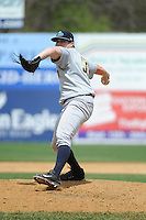 Trenton Thunder pitcher Brander Pinder (36) during game against the New Britain Rock Cats at New Britain Stadium on May 7 2014 in New Britain, CT.  Trenton defeated New Britain 6-4.  (Tomasso DeRosa/Four Seam Images)