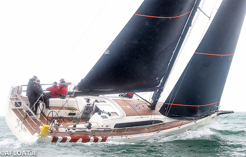 George Sisk's WOW! from the Royal Irish Yacht Club in Dun Laoghaire is competing in this week's Sovereign's Cup at Kinsale Yacht Club