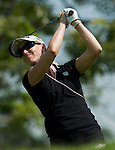 SINGAPORE - MARCH 06:  Carin Koch of Sweden in action during the second round of HSBC Women's Champions at the Tanah Merah Country Club on March 6, 2009 in Singapore. Photo by Victor Fraile / The Power of Sport Images