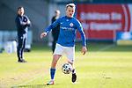 20.02.2021, xtgx, Fussball 3. Liga, FC Hansa Rostock - SV Waldhof Mannheim, v.l. Nik Omladic (Hansa Rostock, 21) <br /> <br /> (DFL/DFB REGULATIONS PROHIBIT ANY USE OF PHOTOGRAPHS as IMAGE SEQUENCES and/or QUASI-VIDEO)<br /> <br /> Foto © PIX-Sportfotos *** Foto ist honorarpflichtig! *** Auf Anfrage in hoeherer Qualitaet/Aufloesung. Belegexemplar erbeten. Veroeffentlichung ausschliesslich fuer journalistisch-publizistische Zwecke. For editorial use only.