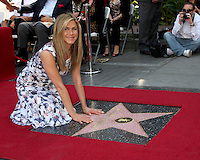 LOS ANGELES - FEB 22:  Jennifer Aniston at the Jennifer Aniston Hollywood Walk of Fame Star Ceremony at the W Hollywood on February 22, 2012 in Los Angeles, CA.