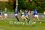 Kerry's Jill Quirke heads for the Tipperary goals as she bursts past defenders Gemma O'Connell, Reah Sweeney and Leanna Copppnger in the Munster LGFA U14 football championship