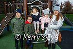 Jude, Callum, Milly, Robin and Mags Lacey enjoying the playground in the Tralee town park on Saturday.