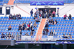 Some supporters comes to the Wolfsburgo practice session at Santiago Bernabeu the day before Champions League match between Real Madrid and Wolfsburgo. April 11, 2016. (ALTERPHOTOS/Borja B.Hojas)