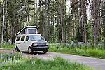 Volkswagon Eurovan Camper by Winnebago, Pioneer Mountains, Montana